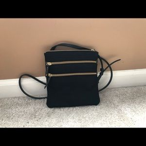 Dooney & Burke Black Crossbody